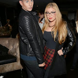 WWW.ENTSIMAGES.COM -        Junaid Ahmed and Abigail Clarke  at        The Bloggers Love Fashion Night Out at Penthouse London November 7th 2013                                            Photo Mobis Photos/OIC 0203 174 1069