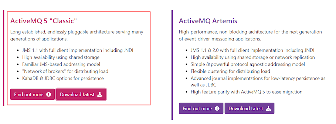 Cài đặt Apache ActiveMQ trên window