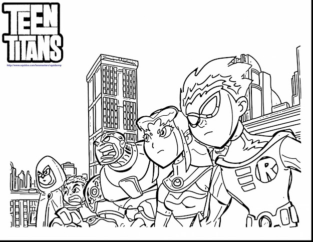 Amazing Teen Titans Go Coloring Pages With Color Pages For Teens And Color  Pages For Teens