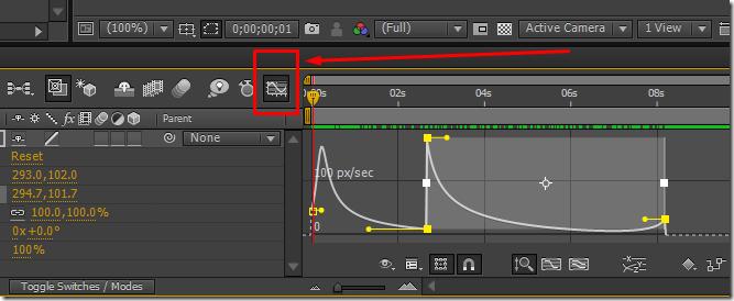 tutorial efek graph editor