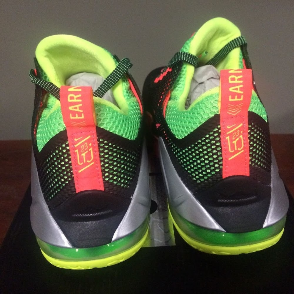 reputable site 6013a d149e ... Upcoming Nike LeBron 12 Low Remix Real Photo ...