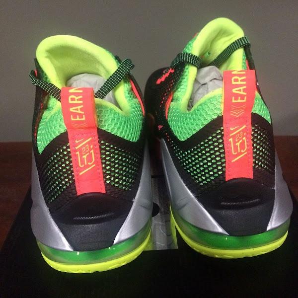 Upcoming Nike LeBron 12 Low Remix  Real Photo