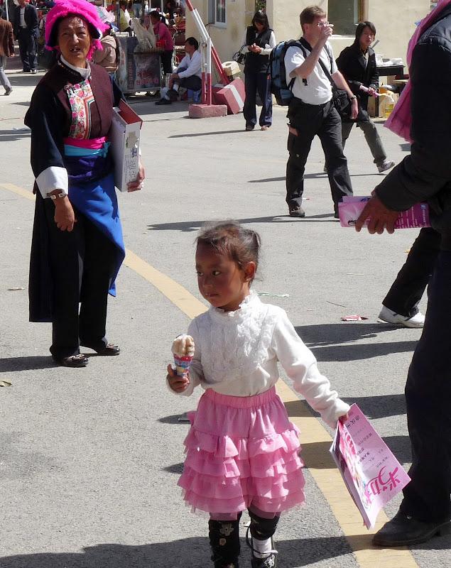 Chine. Yunnan.Shangri la Course hippique annuelle - P1250732.JPG