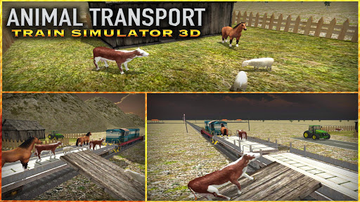 玩模擬App|動物輸送列車シムの3D免費|APP試玩