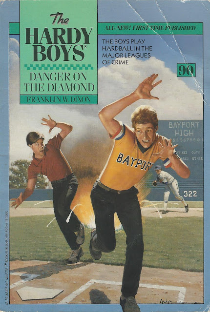 Danger on the Diamond cover