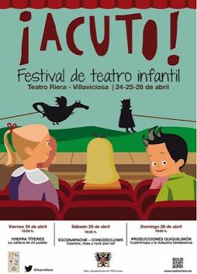 Asturias con niños: Festival de teatro infantil en La Villa