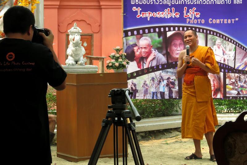 Wat Sri Suphan's abbot, Phra Khru Phithak