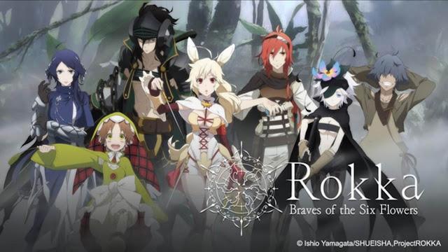 membaca dan mencatat judul anime Action Fantasy dari part  Rekomendasi Anime Action Fantasy Terbaik Part 2