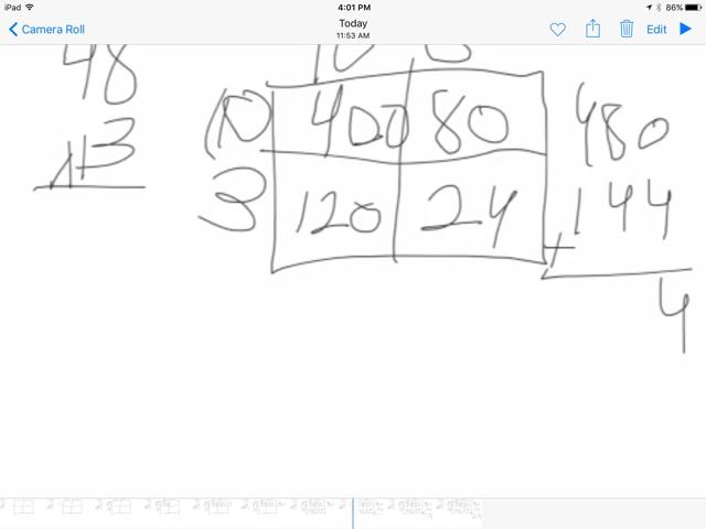 Ms. Schimel's Class: Box Math Strategy