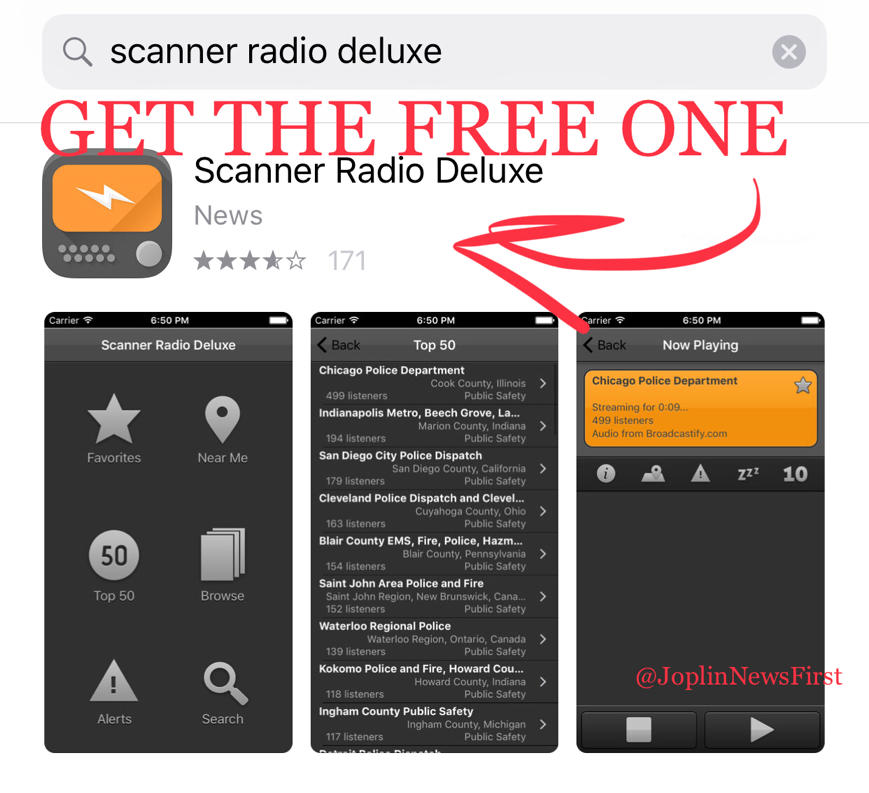 Joplin News First: WHAT SCANNER APP DO WE USE? IT'S FREE