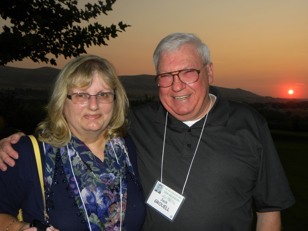 Linda Eaton Grouell and Jack Grouell