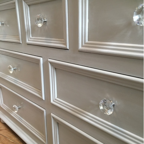 lime wash finish chest of drawers in chalk paint by lilyfield life