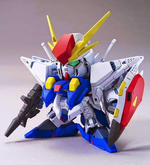 Lắp ghép XI Gundam Hathaway's Flash BB-386 SD Gundam không tỷ lệ, cao khoảng 8 cm