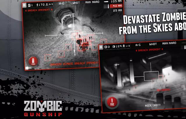 Google Play İndirimi - Zombie Gunship