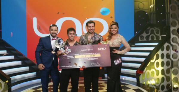 Bismar es el ganador de los 120 mil bolivianos del 'Bailando por un sueño'