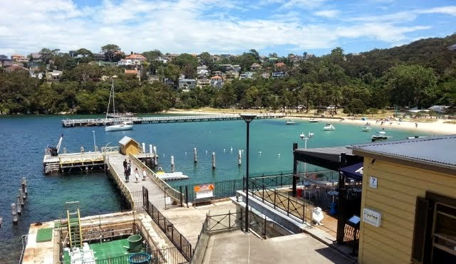 Former Army base now handed back to the people. Sydney Harbour Walk