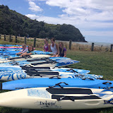 Our Dolphin Boards ready to load for Omanu!