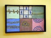 Fachada - 45x30x4 cm - ferro e cerâmica