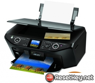 Reset Epson RX595 Waste Ink Counter overflow problem