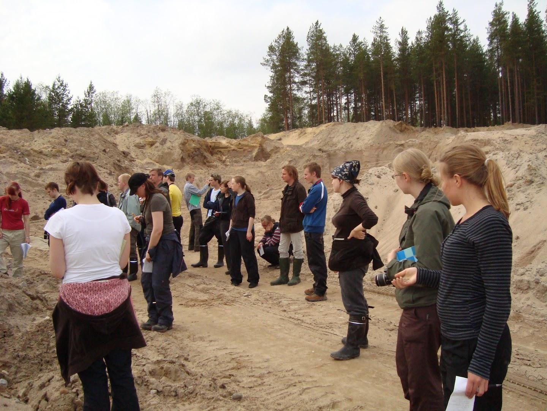 Maaperägeologian kenttäkurssi kevät -09 - DSC02249.JPG