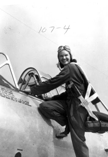 Jane Straughan, Class 43-1, Wilmington ferry pilot. Courtesy WASP Archive, Texas Woman's University, Denton, TX. From WASP of the Ferry Command: Women Pilots, Uncommon Deeds