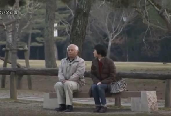 Lelaki Jepun Merajuk 20 tahun