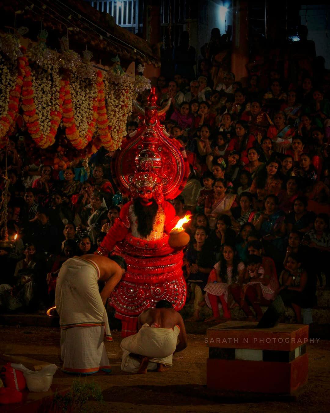 Theyyam Photos - Agnibhairavan Theyyam
