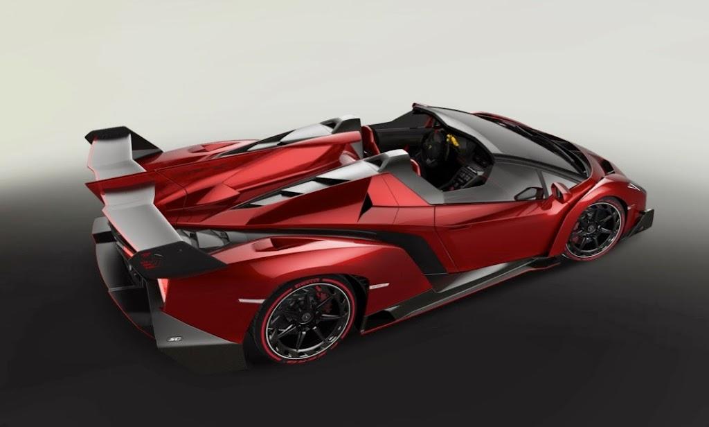 Lamborghini Veneno Roadster 3