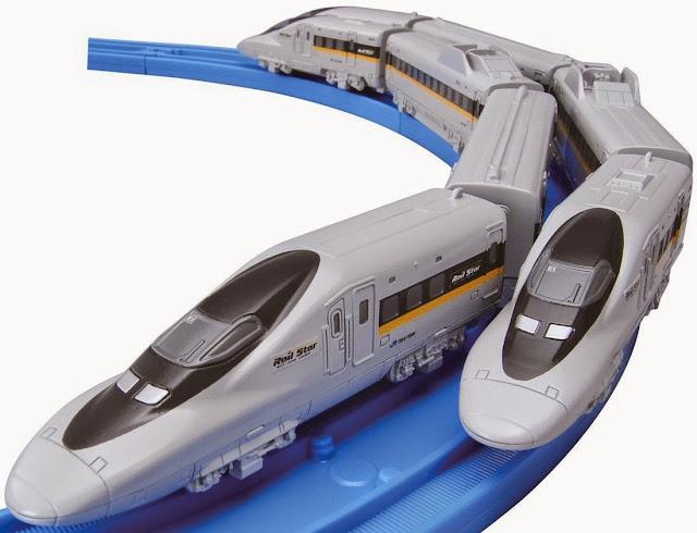 Tàu hỏa cỡ nhỏ AS-09 Series 700 Hikari Railstar vừa vặn với đường ray cơ bản
