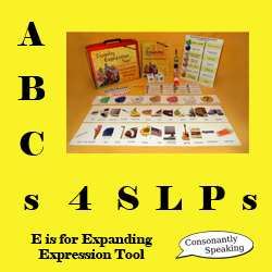 ABCs 4 SLPs - E is for Expanding Expression Tool (EET) image