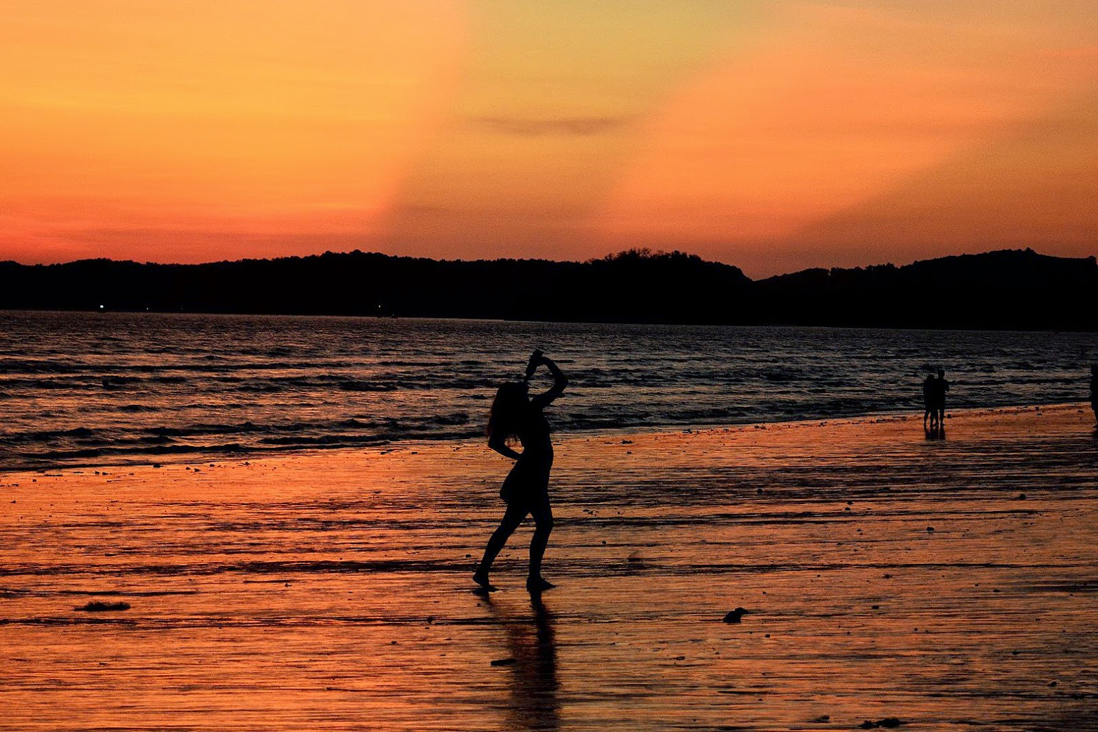 Sunset @ Ao Nang Beach, Krabi, Thailand
