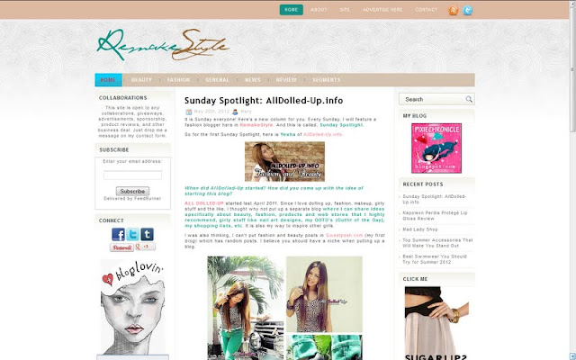 RemakeStyle New Layout - Shades of Brown