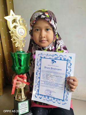 Mengenal Sosok Ananda  Reysa Jastiana Cantika Putri  Yatim Berprestasi