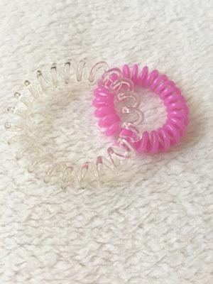 Spiral hair toggle