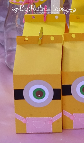 Minion Girl Birthday Party -  SnapDragon Snippets - Ruthie Lopez - My Hobby My Art 19
