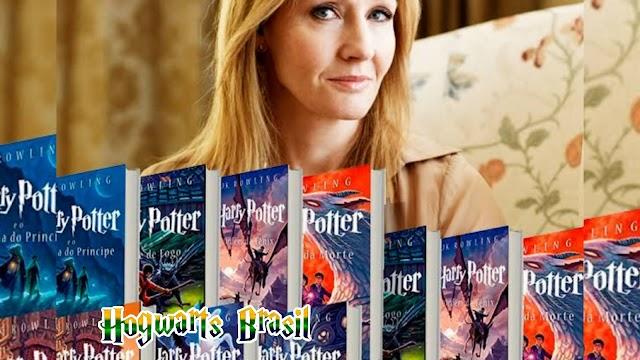 A escritora J.K. Rowling tem os livros mais vendidos do ano