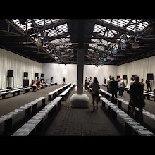 Photo: rag & bone before the show at New York Fashion Week Spring 2013 - Which shows are you excited to see?