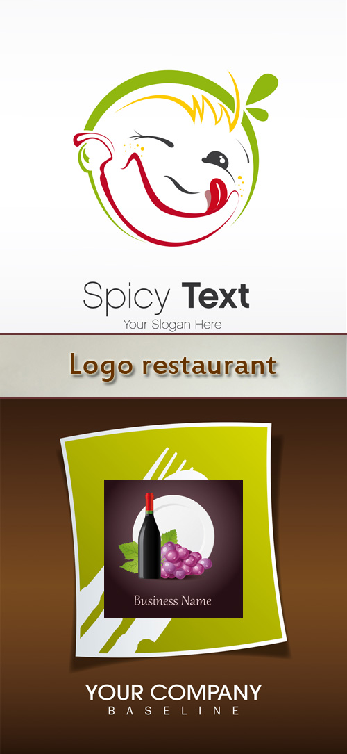 Stock: Logo restaurant 4