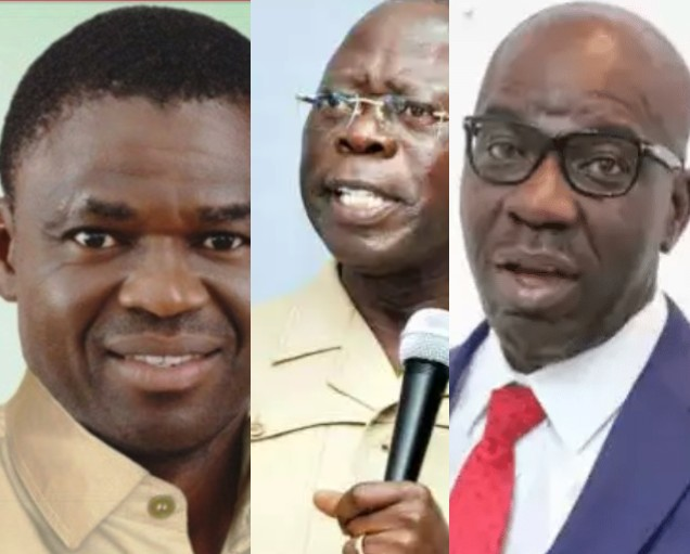 Philip Shaibu: Oshiomhole Is Plotting To Remove Obaseki Through The Judiciary