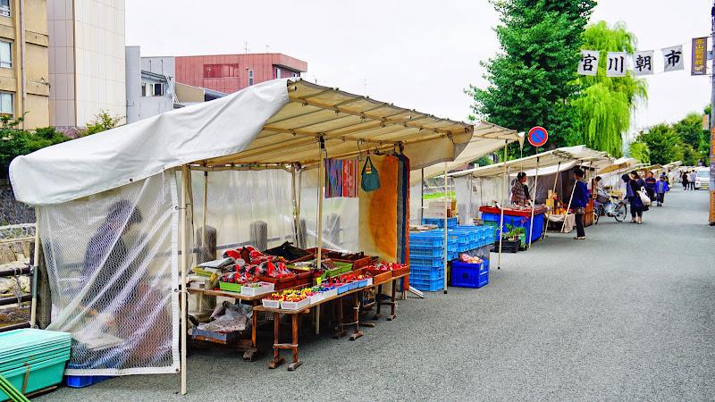 飛騨高山 宮川朝市 写真1