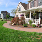 Front Yard Accent Walk and Plantings
