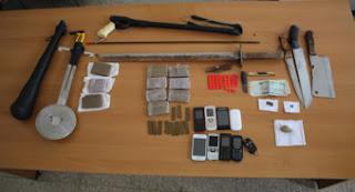 Mascara : Démantèlement d'un réseau de trafic de stupéfiants et saisie de kif et d'armes blanches