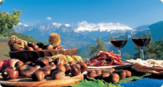 valle-isarco-Törggelen-cibo