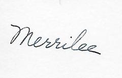 Merrilee DL ant back