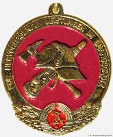 298b Medaille Ehrenzeichen für hervorragende Leistungen im Brandschutz www.ddrmedailles.nl