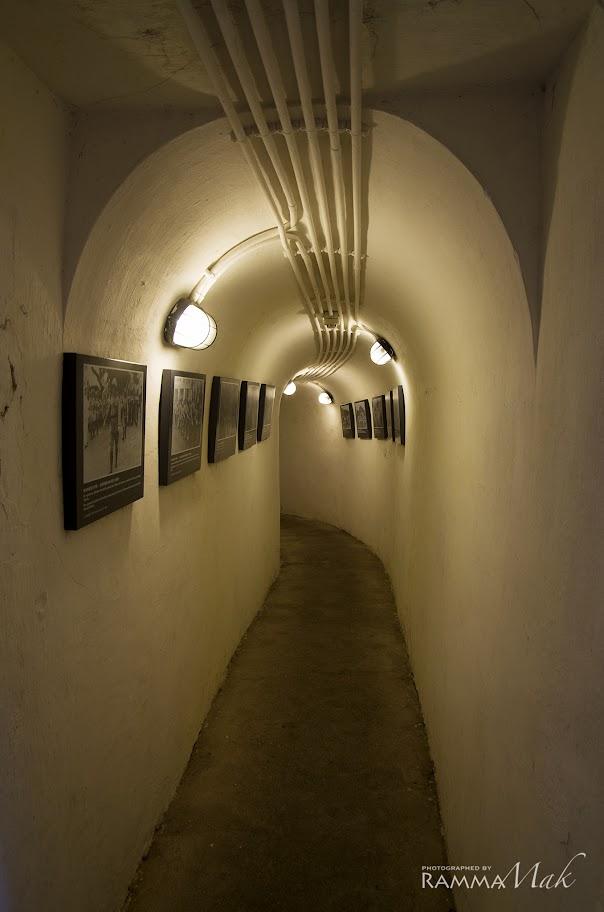 戰時隧道內