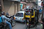 Crazy Jodhpur traffic.