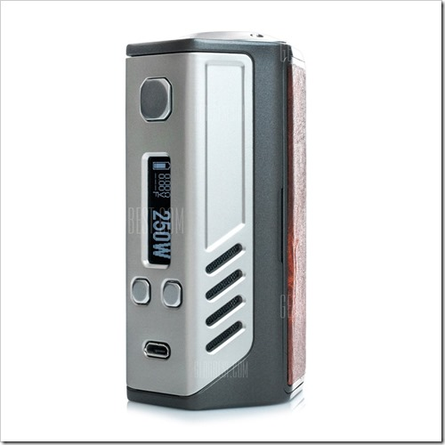 20160924180418 94429 thumb%25255B2%25255D - 【MOD】「LOST VAPE Triade DNA 250 Box Mod」レビュー。Evolv DNA250基盤を搭載したハイエンドレザーMOD!トリプル18650バッテリーで超ハイパワー【レザーの高級感】