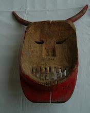 Photo: Maska buše Busóálarc