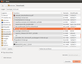Google Docs y LibreOffice sincronización sin conversión